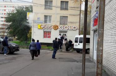 Полиция задержала налетчиков в ювелирном магазине на Ветеранов