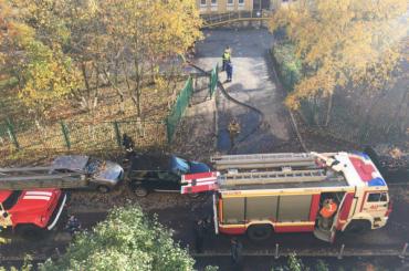 На улице Тельмана произошел пожар в детском саду