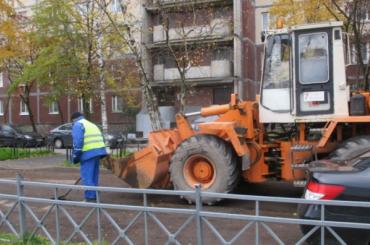 Дорожники Петербурга перешли на зимний режим работы