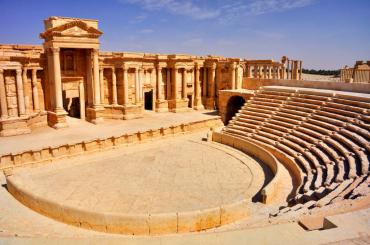 Сирии передадут 3D-модель Пальмиры наПетербургском культурном форуме