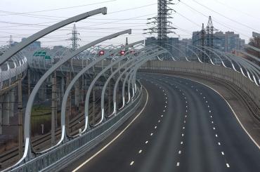 Две полосы движения перекроют научастке КАД между развязками сРябовским иКолтушским шоссе