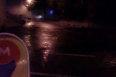 Трубу сгорячей водой прорвало наюго-западе Петербурга