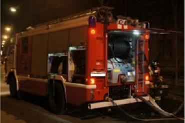 Пожар вспыхнул в трюме буксира в Кронштадте