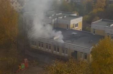 Прокуратура организовала проверку из-за пожара вдетсаду вНевском районе