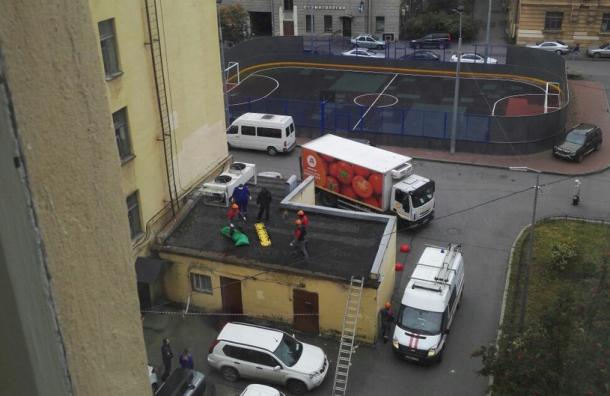 ВПетербурге при падении скрыши станции «Чкаловская» насмерть разбился мужчина