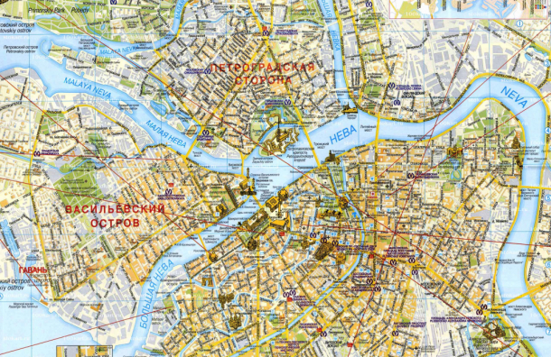 Каждая четвертая улица вПетербурге имеет уникальное имя