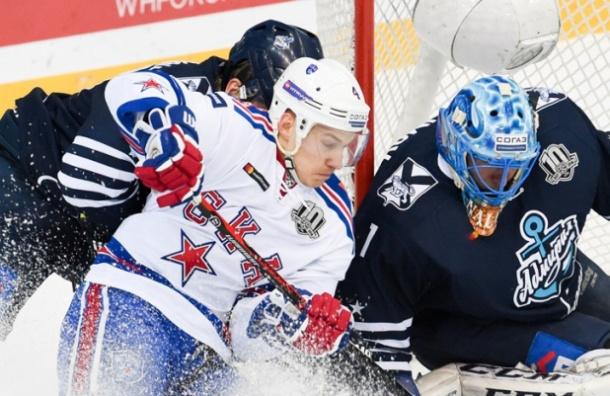 СКА одержал «сухую» победу воВладивостоке