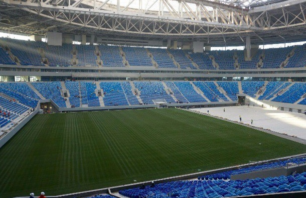 Настадион «Санкт-Петербург» истратят  еще 300 млн руб.