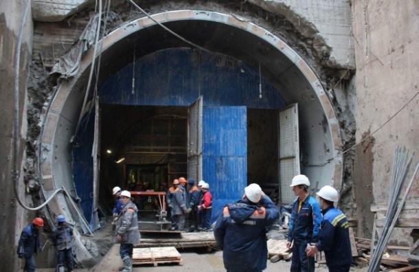 Опубликованы фото строящихся станций «Новокрестовская» и«Беговая»