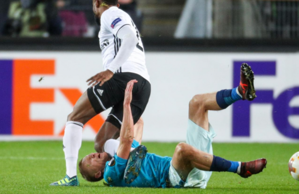 Болельщики довели «Зенит» додела УЕФА
