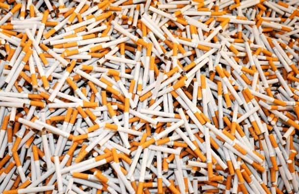 Грабители украли сигареты на178 тысяч рублей