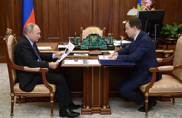 Мединский рассказал Путину орекордных сборах российского кино
