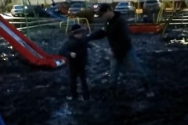 Россия засосала ребенка