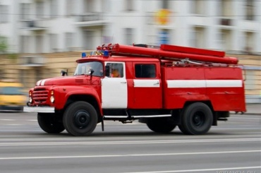 НаМаршала Жукова горели автомобили