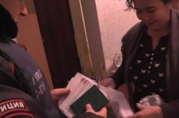 Полицейские провели миграционный рейд вобщежитии насевере Петербурга
