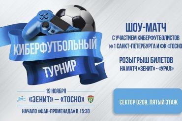 Выставочный киберспортивный матч состоится настадионе «Санкт-Петербург»