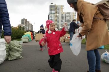 Акция пораздельному сбору мусора пройдет вПетербурге