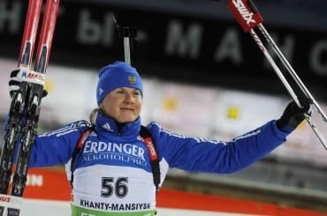 Биатлонистка Романова несобирается возвращать олимпийскую медаль