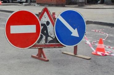 КАД полностью перекроют врайоне развязки сМосковским шоссе