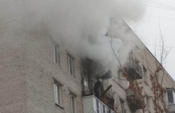 Пожар наулице бойца Корзуна заставил жильцов «погулять»