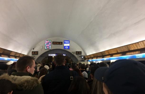 Названы причины закрытия входа настанции метро «Петроградская»