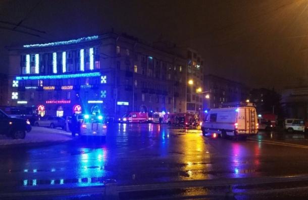 Стала известна предварительная причина взрыва вмагазине вПетербурге