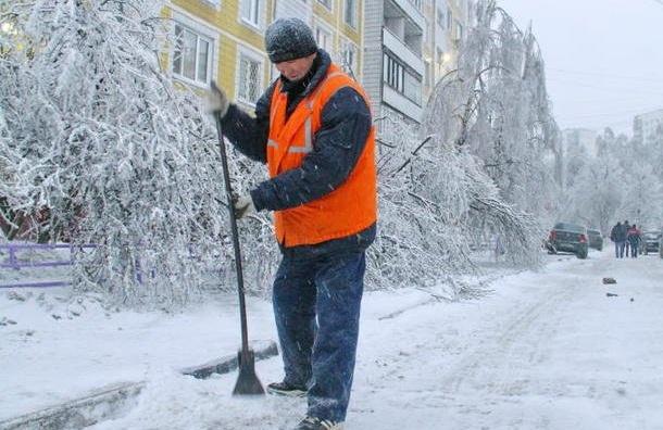 Центр Петербурга наНовый год обещают убрать к 7-ми утра