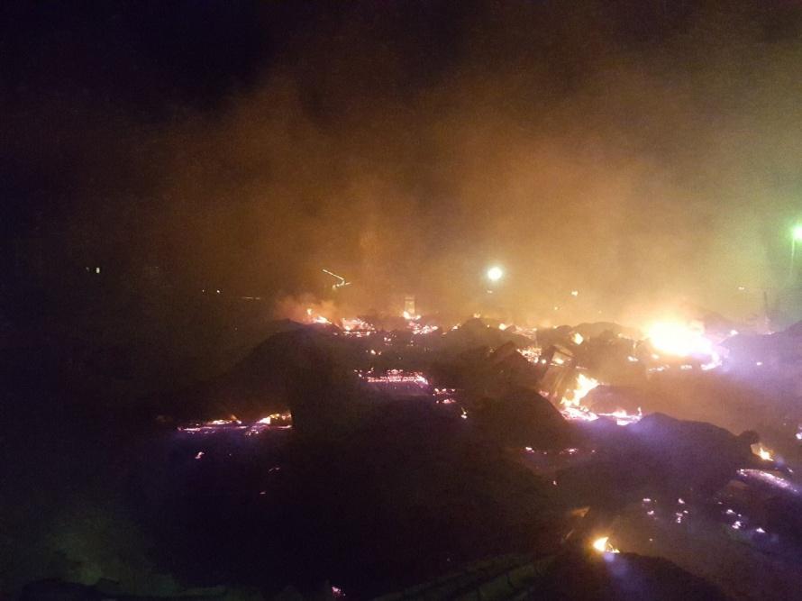 Пожар нагорнолыжном курорте вПриозерском районе Ленобласти