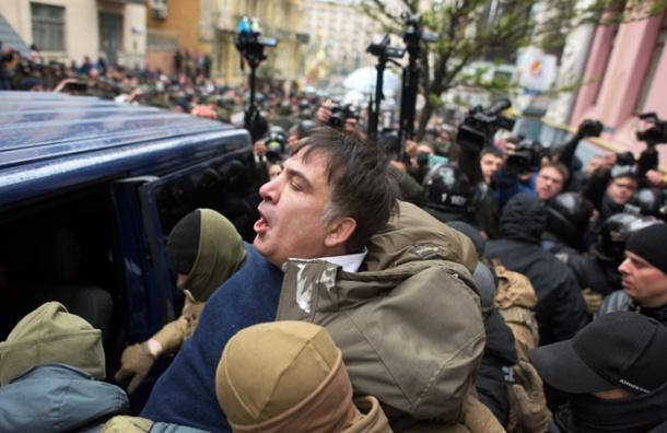 Украина обвинила Саакашвили вполучении денег изРоссии