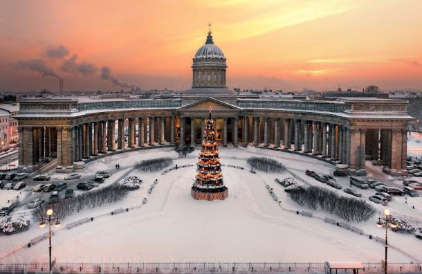 Граждане Петербурга нехотят покидать город вновогодние праздники