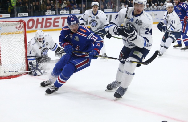 «Динамо» обыграло СКА вПетербурге впервый раз за6 лет