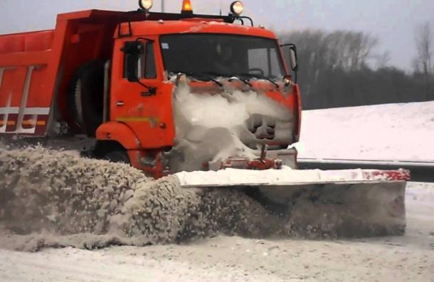 Петербуржцы смогут наблюдать зауборкой снега врежиме онлайн