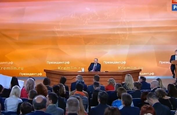 Путин: «Унас женщины еще рожают в55»