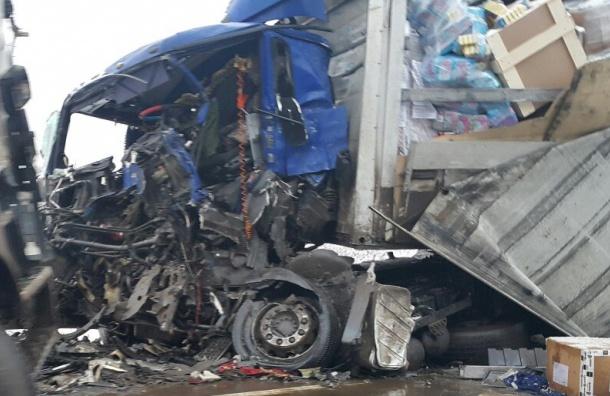 Серьезная авария случилась наМурманском шоссе