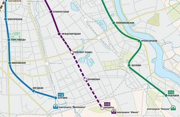 Кмаю наступающего 2018-ого года будут сданы три станции метро