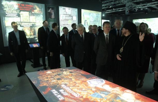 Парк «Россия— моя история» открылся вПетербурге