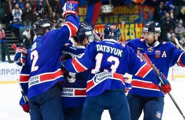 СКА будет участвовать вплей-офф КХЛ
