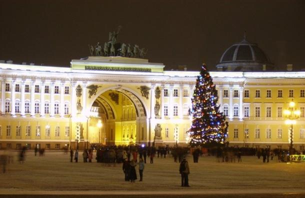 Гражданин Удмуртии «заминировал» новогодние елки вцентре Петербурга и столицы