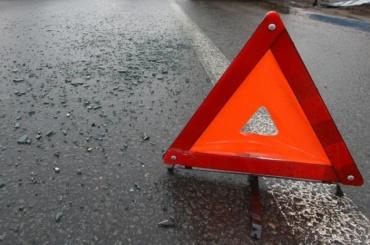 «Газель» иAudi столкнулись наКрасносельском шоссе