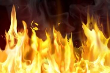 Квартира горела вВыборгском районе
