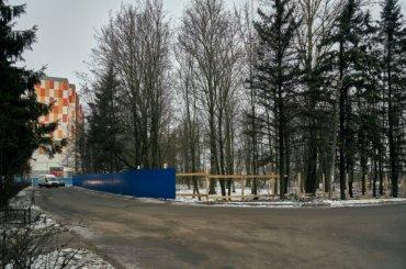 Единственную зелёную зону застраивают вЛенсоветовском