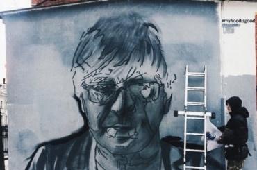 Петербуржец потребовал закрасить портрет Шевчука