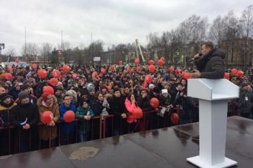 Навальный нашел Псков небольшим, но«очень классным иважным»