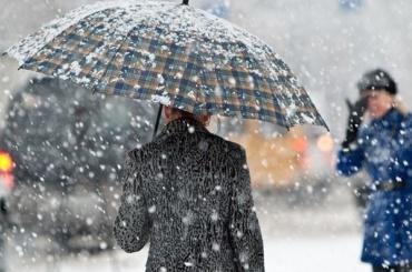 Снег сдождем обещают вПетербурге 15декабря