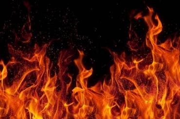 Пожар вПриморском районе тушили 18 человек