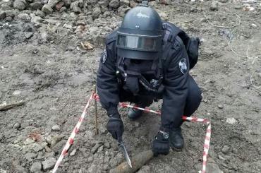 Снаряд нашли наПетроградской стороне