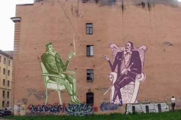 Тетердинко просит губернатора легализовать незаконные граффити вПетербурге