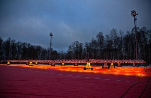 «Зенит» взял ответственность запоявление красного неба вПетербурге