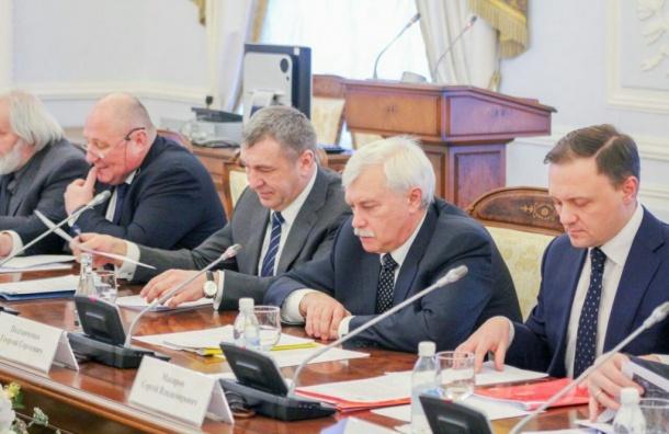 Губернатор Петербурга встретился сградозащитниками