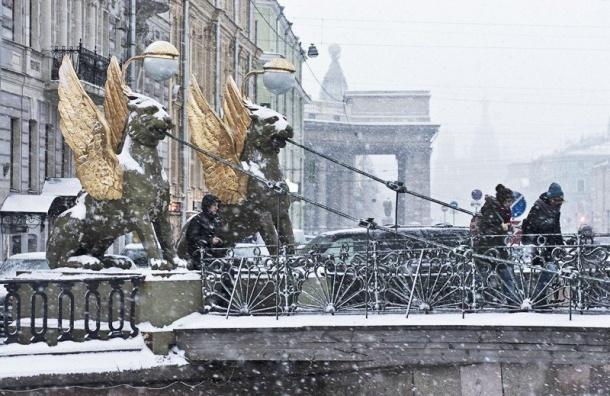Мороз вернется вПетербург ввоскресенье